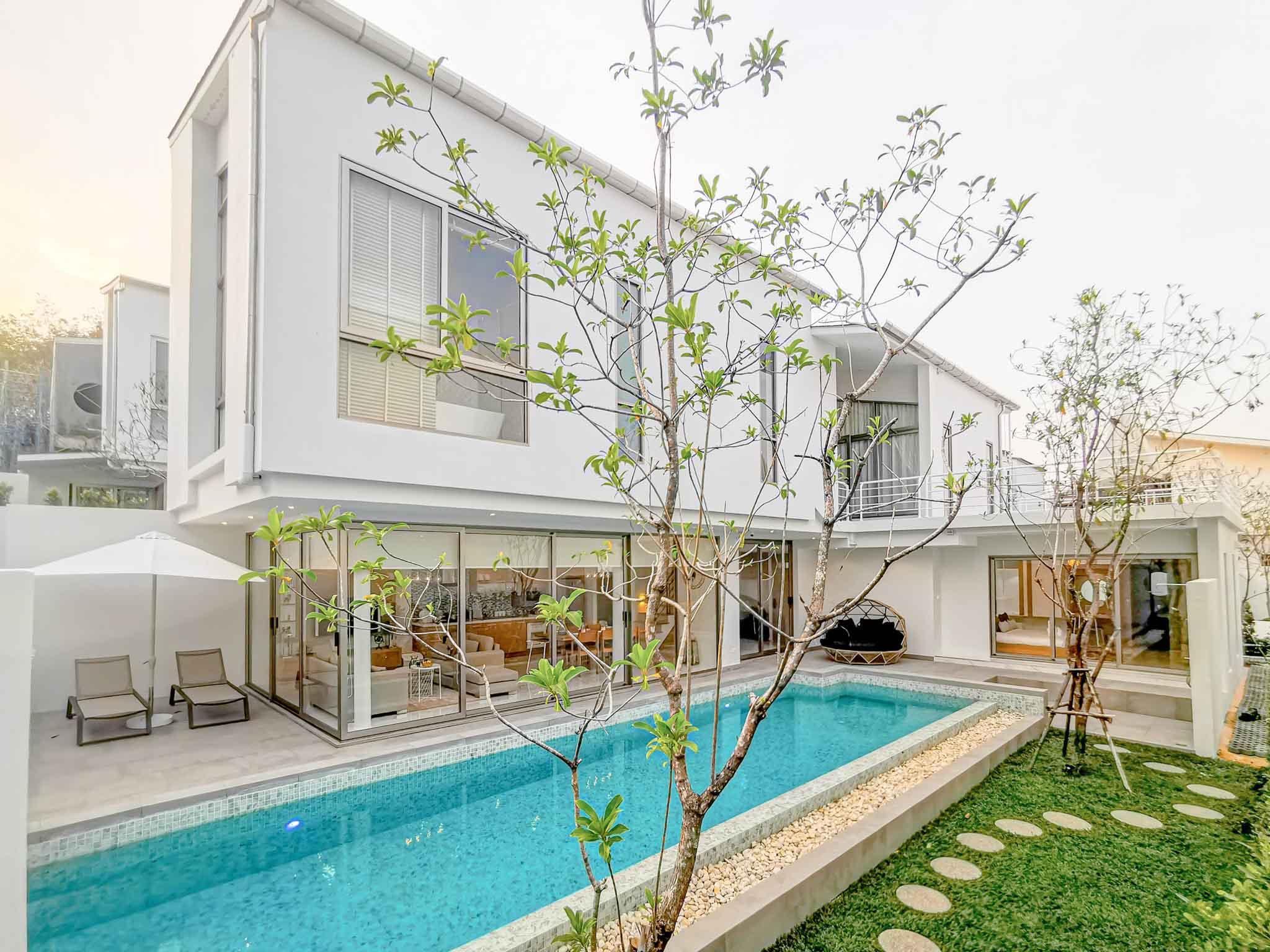 Exterior : The Nest villa by Wallaya villas